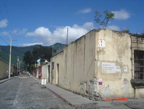 Terreno en Antigua Guatemala Ubicación estratégica