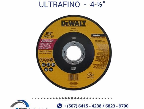 DISCO DE CORTE DEWALT ULTRAFINO PARA METAL
