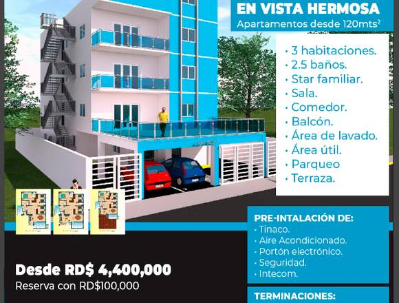 Apartamento Amplio, SDE, Cercano a Megacentro