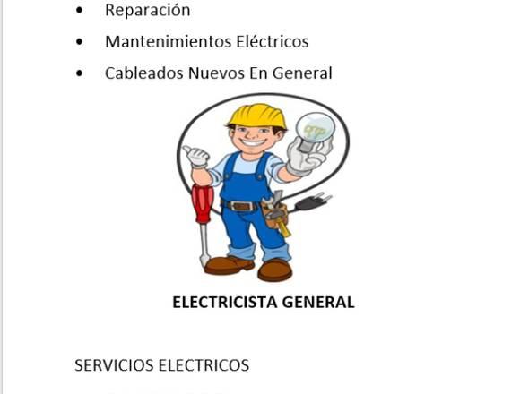 Electricista.  Trabajos electrico y remodelacion