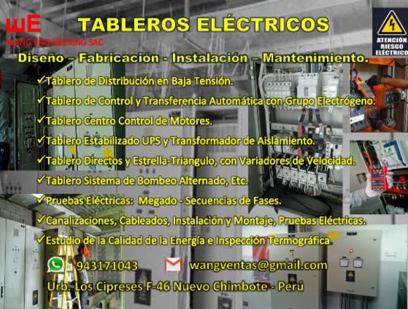 POZOS A TIERRA -TABLEROS ELÉCTRICOS- ILUMINACIÓN