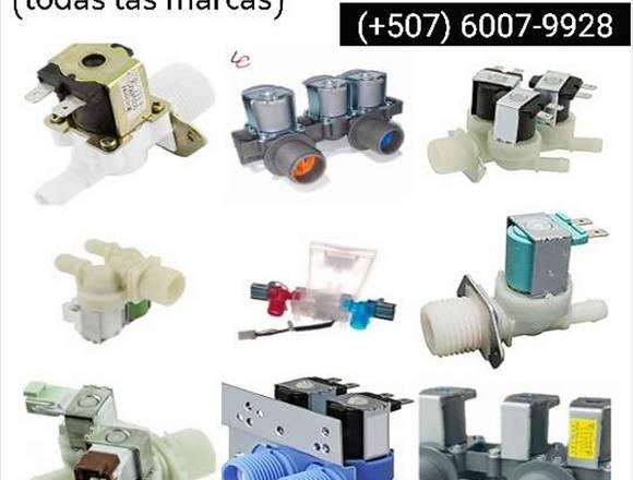 Válvulas de agua para lavadoras