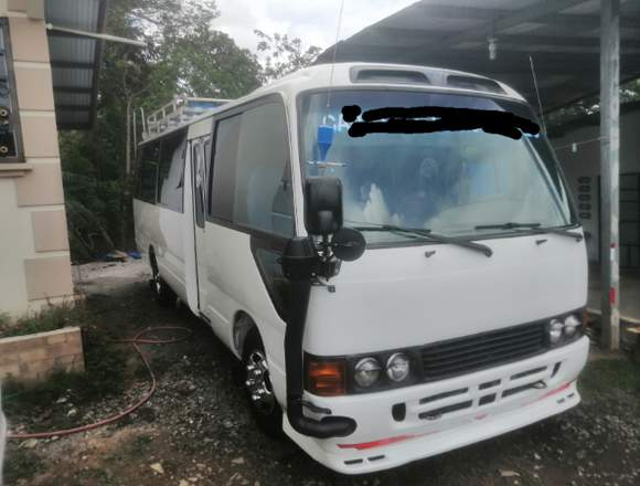Vendo Bus toyota coaster