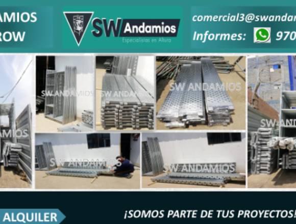 ANDAMIOS CONVENCIONALES - ALQUILER Y VENTA
