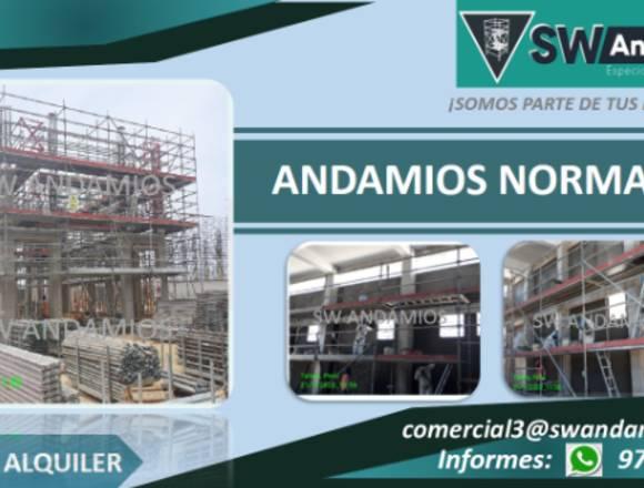 ANDAMIOS MULTIDIRECCIONALES - NORMADOS