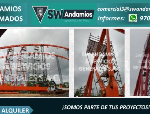 VENTA Y ALQUILER DE ANDAMIOS NORMADOS