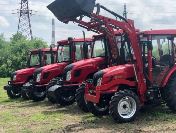 tractor nuevo  con cargador frontal incorporado
