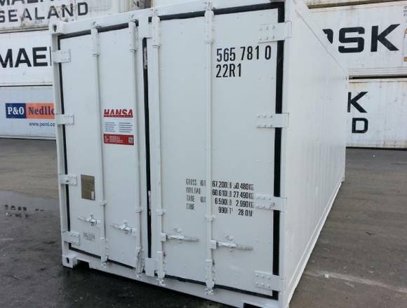 20` Kühlcontainer mit Thermo King Aggregat