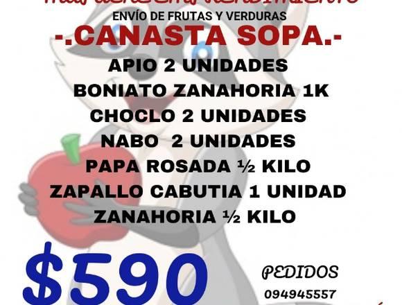 ENVIO DE FRUTAS Y VERDURAS A DOMICILIO SIN CARGO