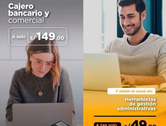 CAJERO BANCARIO Y COMERCIAL + HERRAMIENTAS