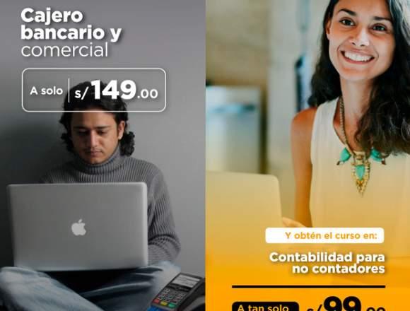 CAJERO BANCARIO Y COMERCIAL +