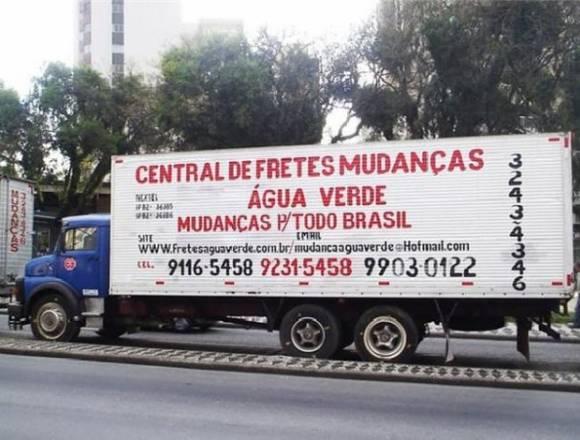 MUDANÇAS E FRETES ÁGUA VERDE