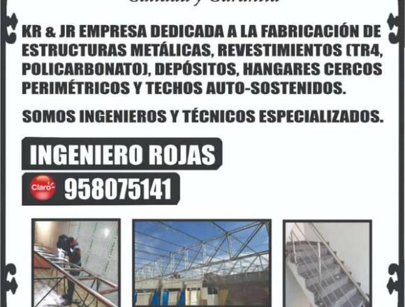 ESTRUCTURAS METÁLICAS AREQUIPA Tel. 958075141