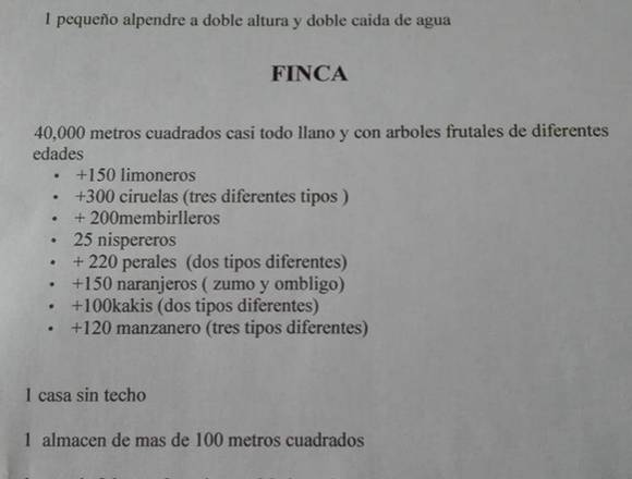 TERRENO EN MOYA POZO DE AGUA DE 259200
