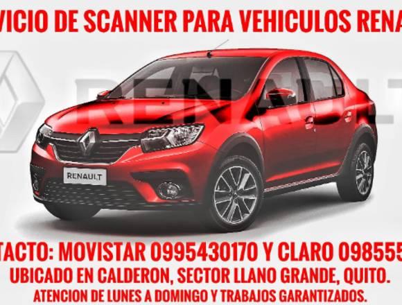 Servicio de scanner Renault