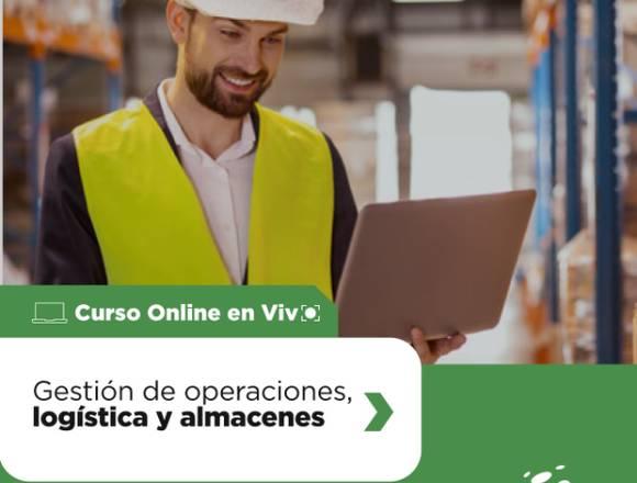 CURSO ONLINE DE LOGISTICA,OPERACIONES Y ALMACENES