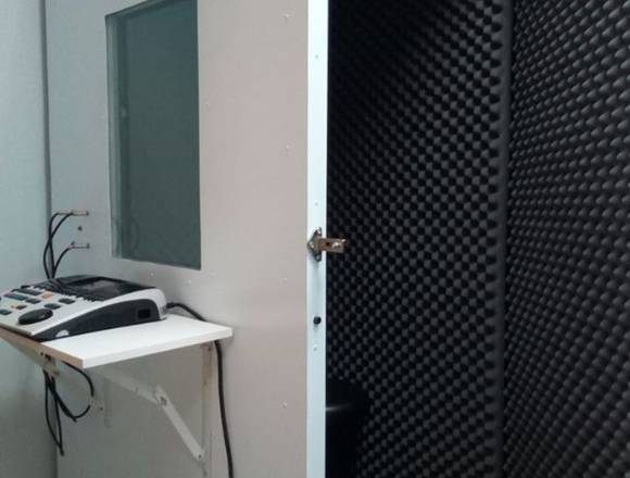 Cabinas audiométricas, cabinas audiológicas, Quito