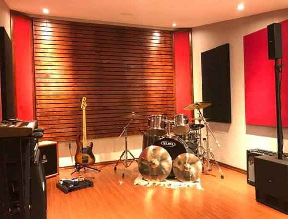 Construimos estudios de grabación, edición, mezcla