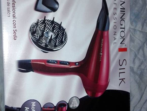 SECADORA DE CABELLO REMINGTON SILK