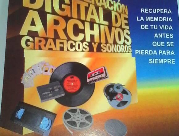 DIGITALIZACION: VHS VHS´C Y MAS A PEN DRIVE