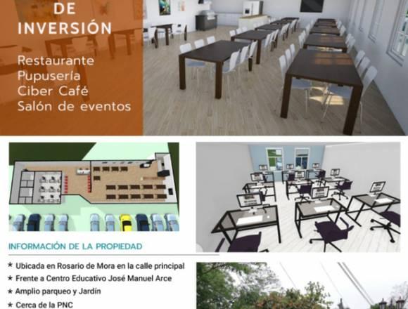 Propiedad con potencial comercial Rosario de Mora
