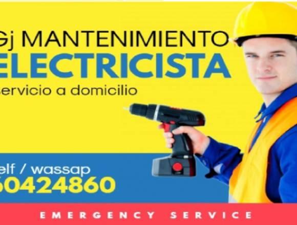 Técnico electricista domicilio