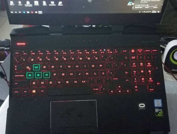 HP omen gamer LEER DESCRIPCION
