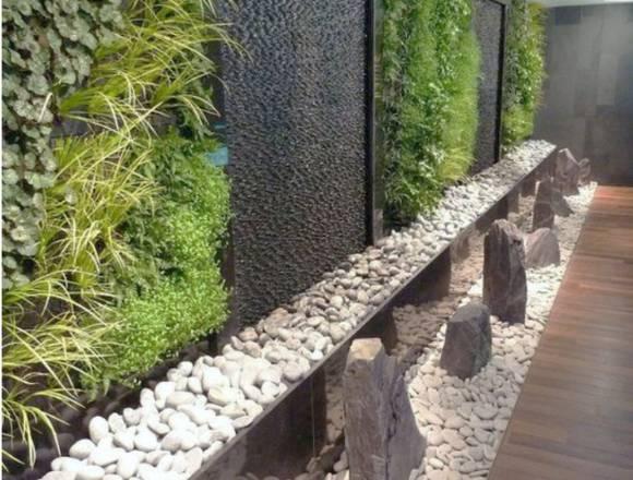 muro lloron exterior moderno, fachaletas,
