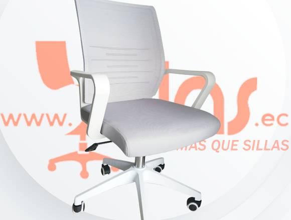 Silla Ergonómica Dana Blanca Quito/Ecuador