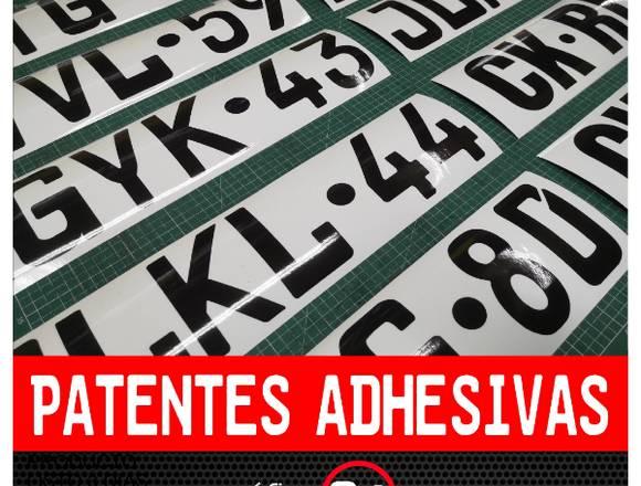 Patentes Adhesivas para Puertas de Camiones