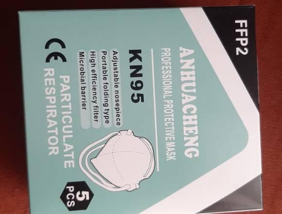 Caja de mascarillas KN-95 importadas