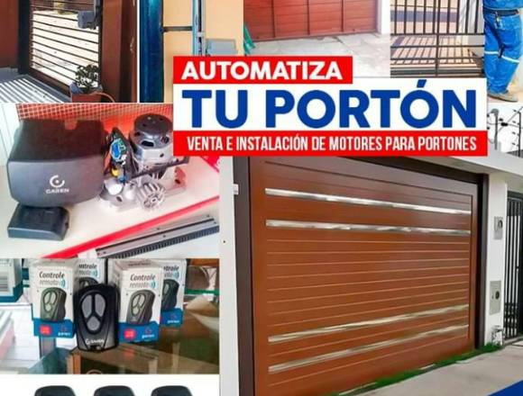 Tecnico de portones  automaticos 73652643