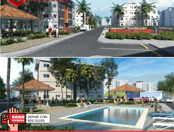 Apartamento en Santo Domingo Oeste