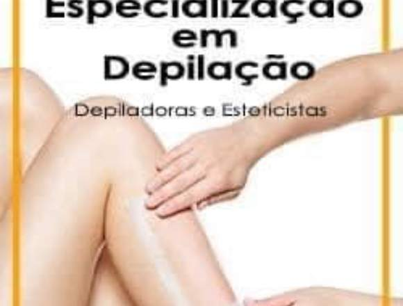 Curso de especialização em depilação
