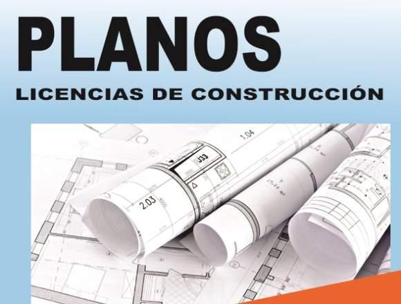 PLANOS PARA LICENCIA DE CONSTRUCCION