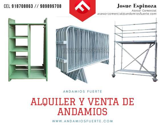 VALLAS METÁLICAS-ANDAMIO ACROW & MULTIDIRECCIONAL