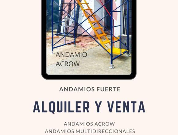 REPARACIONES - ALQUILER - VENTA - ANDAMIOS ACROW