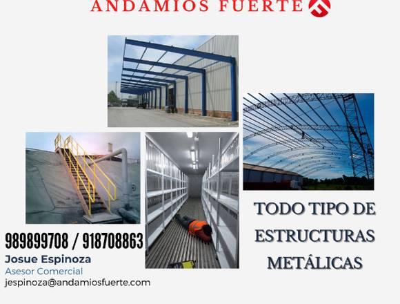TODO TIPO DE ESTRUCTURAS METÁLICAS