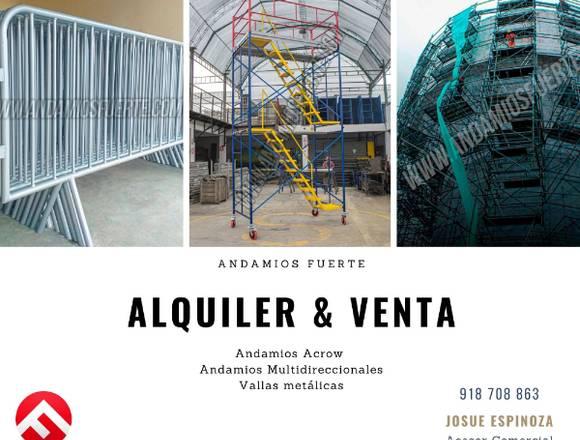 VENTA & ALQUILER DE ANDAMIOS