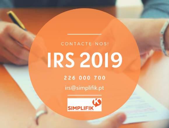Declaração IRS 2019 - Porto/Gaia