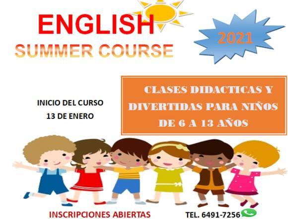curso de verano para niños