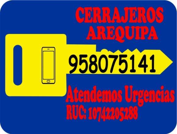 Cerrajeros Arequipa Tel. 958075141