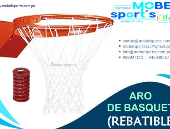ARO DE BASKETBALL-CON RESORTE-MOBEL SPORT´S