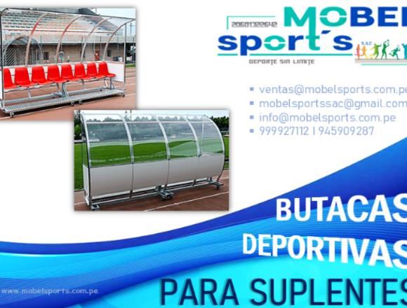 BUTACAS DEPORTIVAS-PARA SUPLENTES-MOBEL SPORTS