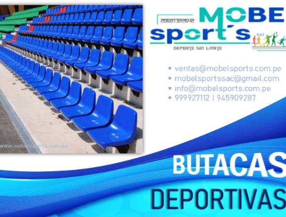 BUTACAS DEPORTIVAS