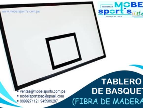 TABLERO DE BASQUETDE MADERA