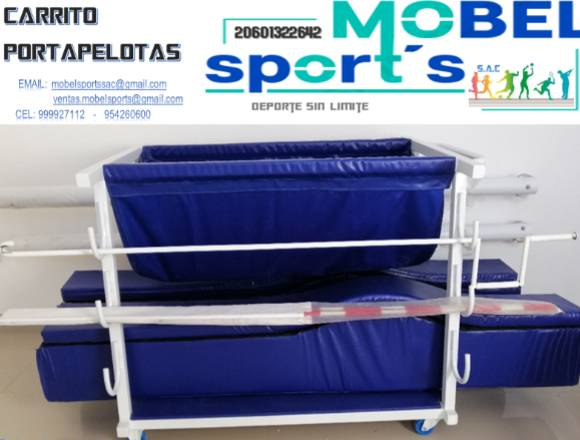 CARRITO PORTAPELOTAS  DE VOLEY - MOBEL SPORT´S