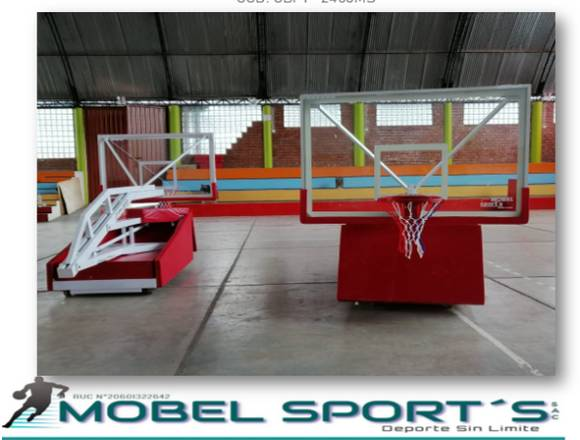 CASTILLO DE BASQUET MOD- PLEGABLE - MOBEL SPORT´S