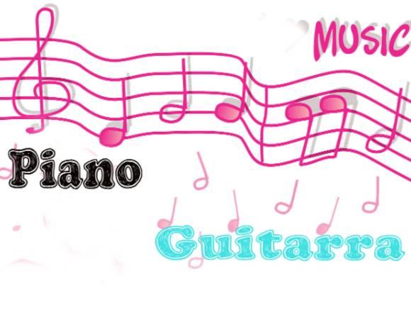 Clases de piano o guitarra en casa