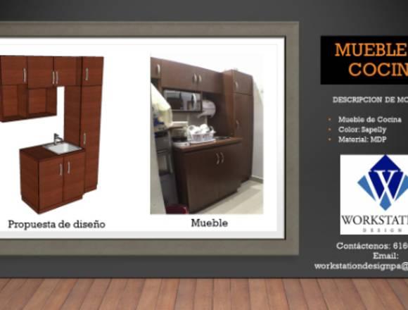 Diseño, confeccion e instalacion de muebles